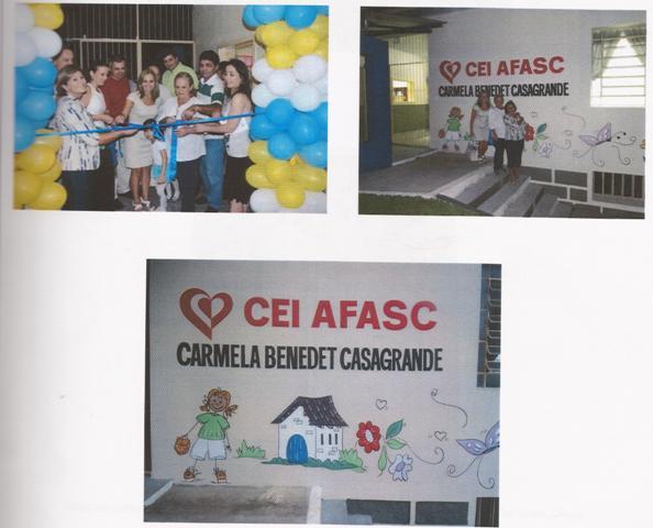Inauguração do CEI Carmela Benedet Casagrande