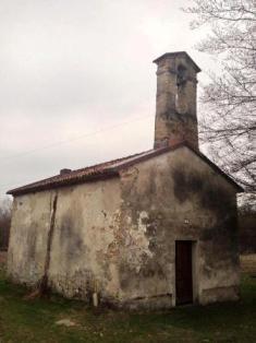 Igreja de San Simon em Tisoi, Itália. Foto Marco Dal Pont.