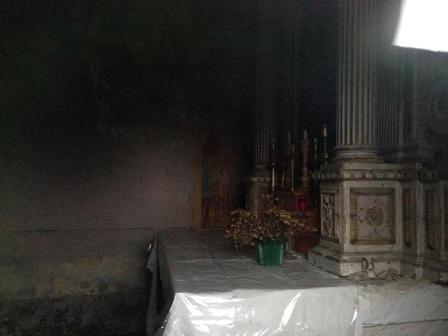 Interior Igreja San Simon. Foto Marco Dal Pont.